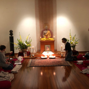 Pujas at Auckland Buddhist Centre