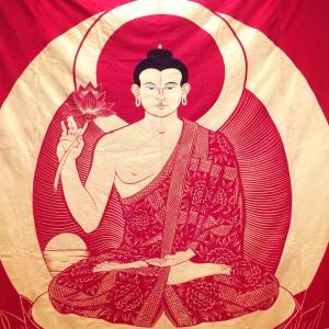 Amitabha thangka