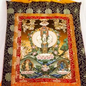 Avalokitesvara Thangka