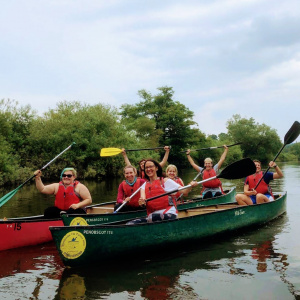 Dharma Life Course beings canoeing on River Wye