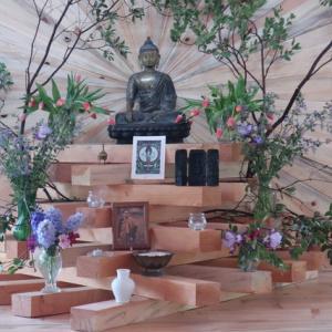 Shrine at Dharmadhara, San Francisco