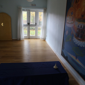 The Amitabha Shrine room