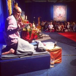 Lokeshvara Introducing the Dedication Ceremony