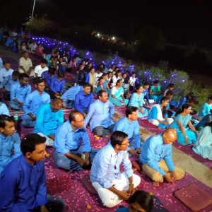 45 women and men became Mitras during Buddha day celebrations at Nagaloka, Nagpur, India