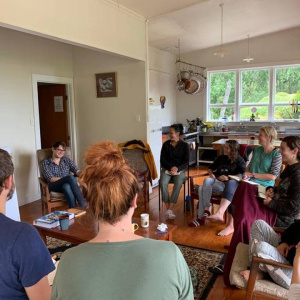 The 'Mettā as Insight' retreat in Sudarshanaloka, New Zealand