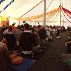Lokeshvara begins the Order weekend dedication