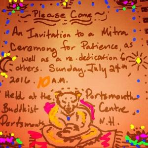Patience's Invitation