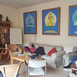 More sofa practice!