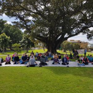 Meditation in Sydney, Australia