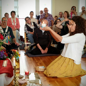 Celebrations at the Valencia Buddhist Centre in Spain