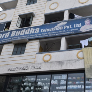 Building with Lord Buddha TV Studios