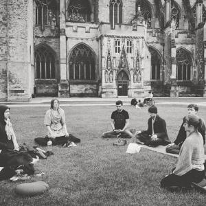 peace meditation Exeter 2016
