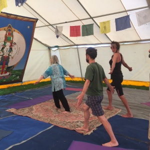 embodied yoga at the International
