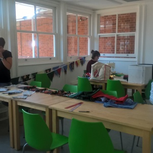 bunting making workshop