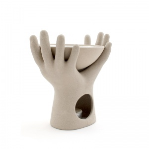 Cupped Hands Oil Burner - £10.00