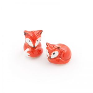 Cute Fox Salt & Pepper Pots - £5