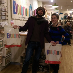 James - Evolution's Communication Manager, Gift buying in Sheffield