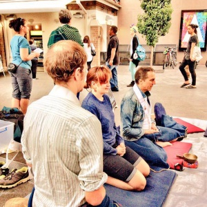 Meditation in the busy world