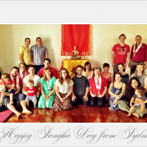 Happy Sangha Day from Sydney