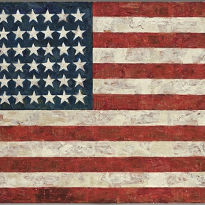 Flag, by Jasper Johns
