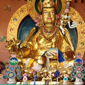 Padmasambhava, Nyingma Temple, Bodhgaya