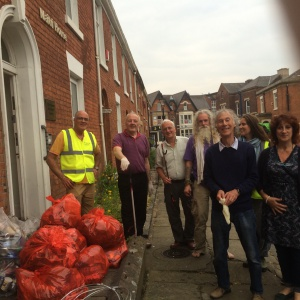 Blackburn Sangha Litter picking