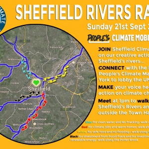 Sheffield Rivers Rally, map and info