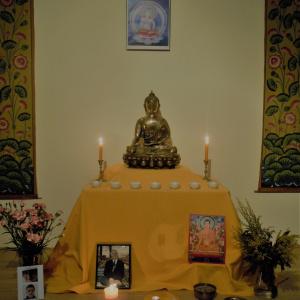 Autel à Ratnasambhava