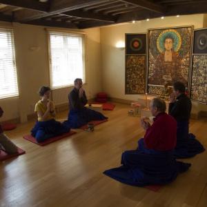 Norwich Buddhist Centre shrine room