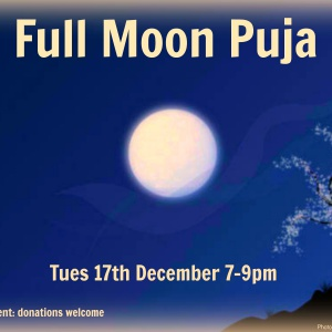 Full Moon Puja