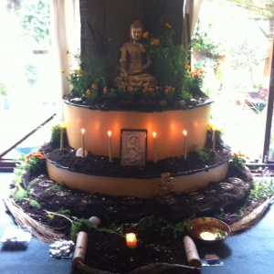 Buddha Day Shrine