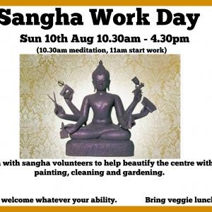 Sangha Work Day