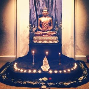 The Buddha and Vajrasattva
