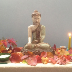 Shrine from Adelaide Triratna Buddha Day Celebrations