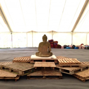 The Pallet Buddha (back)