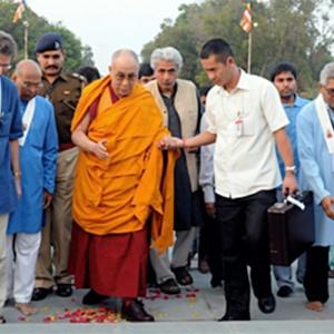 Lokamitra and the Dalai Lama