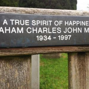Memorial to a happy man