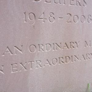 Gravestone, Coddington churchyard