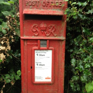 Village post box