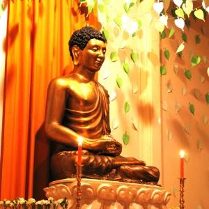 'Vintage' Buddha Day Shrine