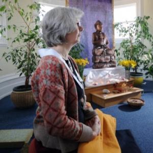 Uddyotani in the Leeds Shrine Room