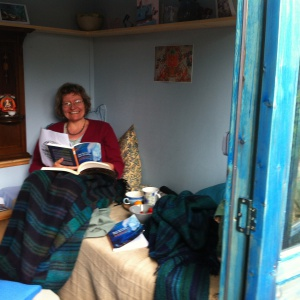Satyalila leading study in 'the Shed'