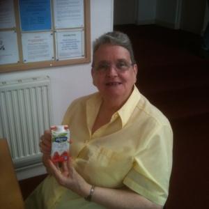 Brenda discovers soya cream