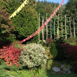 Karma Ling gardens