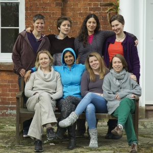 Mariana, back row, second from right