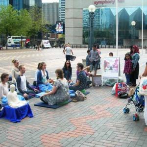 Birmingham street meditation