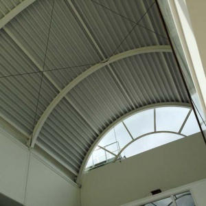 New library roof