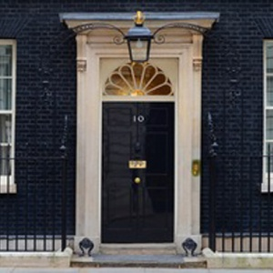 10 Downing Street, residence of the UK prime minister