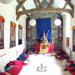 Vajrakuta shrine room