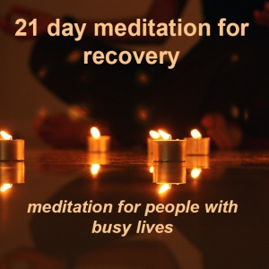 21 day meditation recovery